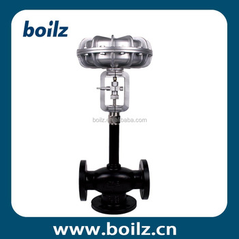 Bellows Seal Pneumatic Actuating Water Flow Control Valve For Boiler ...