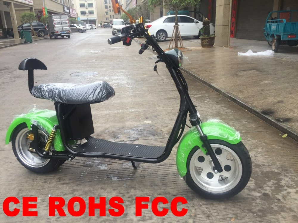 2017 new products 60V 1000W CE ROHS FCC Authentication 2 wheel electric scooters for adults outdoor sports