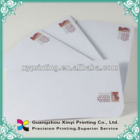 Letterhead and envelopes printing