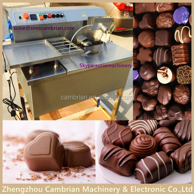 New design 15kg chocolate casting machine for chocolate mould with frequency motor