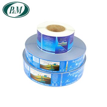 Packaging Adhesive Paper Sticker Printing Custom Printed Labels Water Bottle Label Self