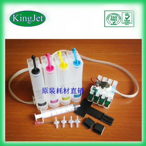 with chip CIS for epson me10, wholesale price for epson me 10 high quality, kingjet cis for epson me 10 high quality