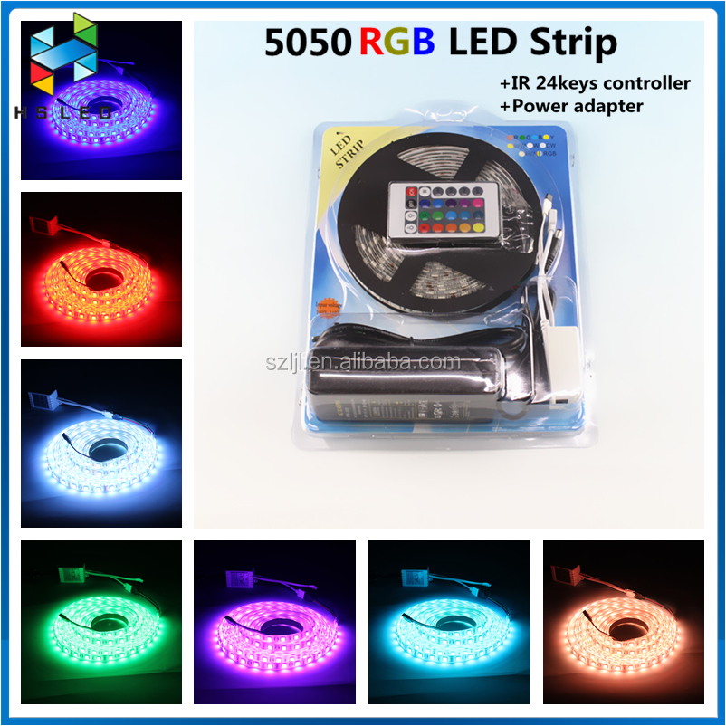 5m Rgbw Smd5050 Flexible Led Strips Rope Lighting Rgb+w White Waterproof Ip65 12v 60led/m Tape Light Home Christmas Holiday Lamp Led Strips Led Lighting