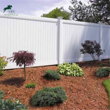 strong white pvc privacy fence for garden