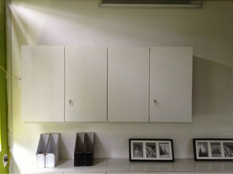 File Storage Office Furniture New Design Simple White Wall Mounted Cabinet Lateral Files Lmc04 Filing