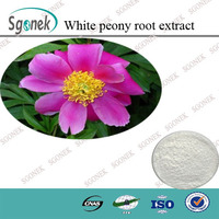 Free Sample White Peony Root Extract, White Peony Extract Powder, 100% Natural White Peony Root Powder
