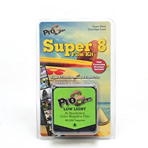 Pro8mm LOW LIGHT Super 8 Film Kit for Super 8mm Film Cameras