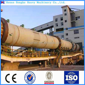 Mining industry sponge iron rotary kiln production lines