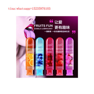 5 Fruit Flavor adult product personal oral lubricant