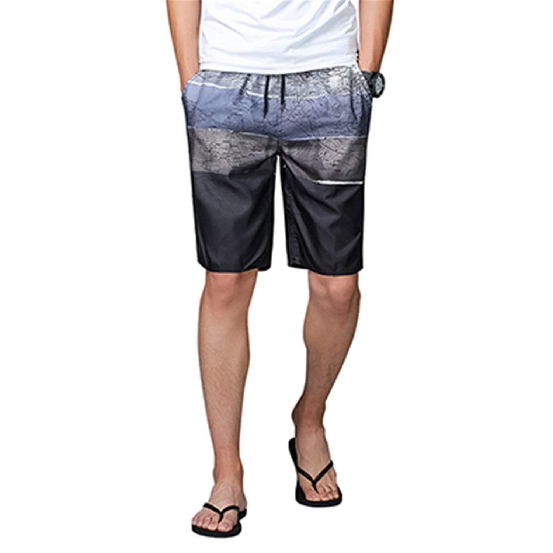 51232525f8e Orcan Bluce Men's Brief Swim Trunks Surf Board Shorts Summer Sport Swimming  Boxer Swimwear Beach Wear