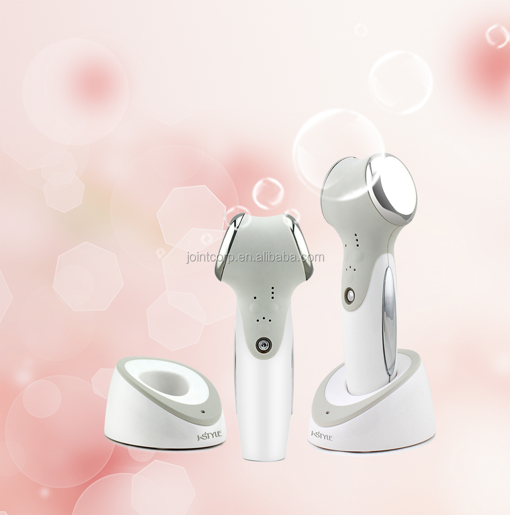J-Style 2-IN-1 Home Use Ultrasonic & Microcurrent Skin Rejuvenation portable ultrasonic facial massager