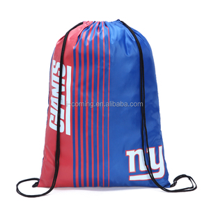 Personalized 210D Polyester Drawstring Back Pack Bags For Kids