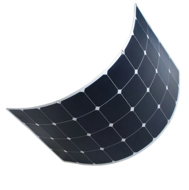 Walkable small flexible solar panel 18v semi-flexible 120w semi flexi panels for boats 120 watt