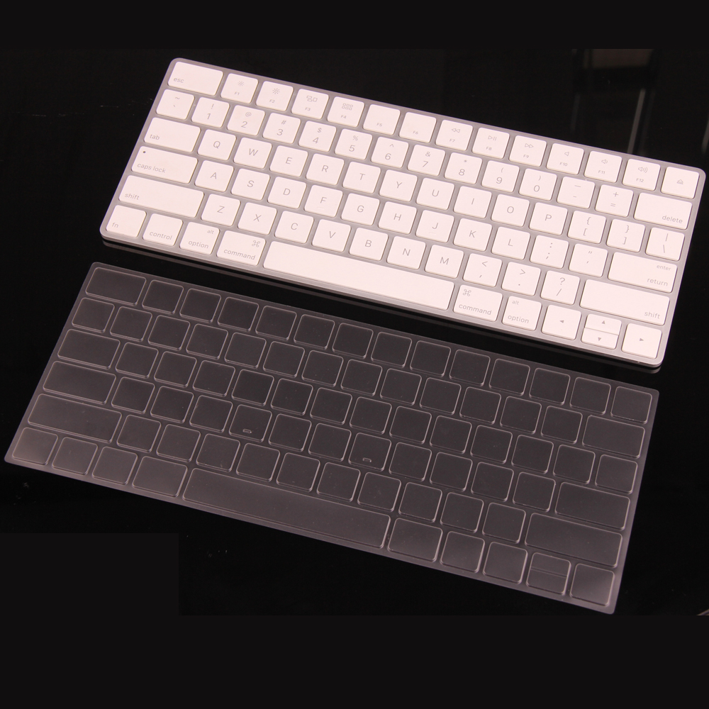 clear tpu waterproof laptop keyboard cover skin protective film for apple magic keyboard. Black Bedroom Furniture Sets. Home Design Ideas