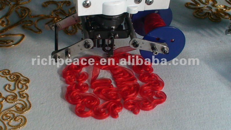 Richpeace Computerized mixed taping and cording embroidery machine