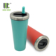 Travel Outdoor Camping Spill Proof Cold Coffee Smoothie Stainless Steel Double Wall Tumbler