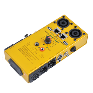 Pro Audio Network Multi Function Cable Tester With Yellow Color CT-04C