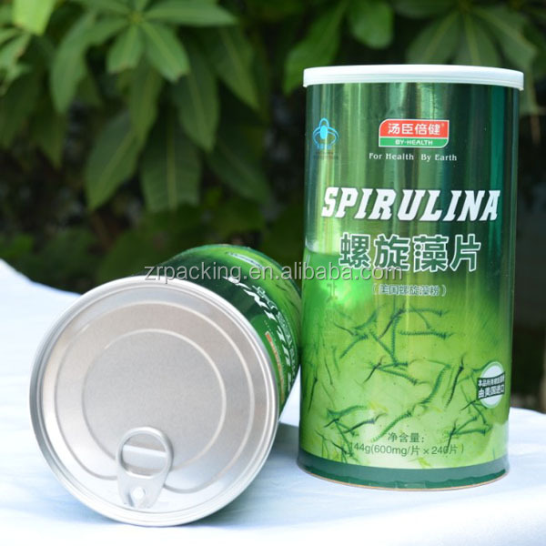 Paper Aluminum EOE cans for food canning