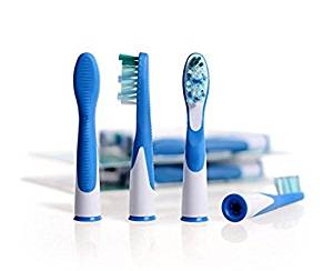 4pcs Replacement Brush Heads for Oral-B Sonic Compatible Toothbrush S12 S18 by Micro Shops