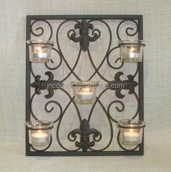 official photos 81eff 23ba6 Wrought Iron Wall Candle Holder - Buy Wrought Iron Wall Candle  Holder,Wrought Iron Pillar Candle Holders,Black Wrought Iron Candle Holders  Product on ...