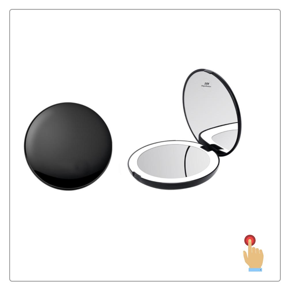 Mini Rotonda di Tasca di Figura Acrilico Specchio Ragazza regalo Borse specchio specchio