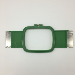 Good prices GREEN Tajima embroidery machine frames 12cm*15cm Square shape Total Length 36cm for sale