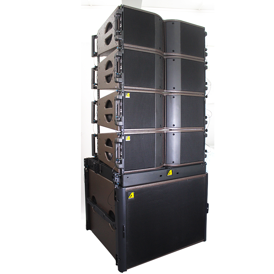 ACTPRO AUDIO professional loudspeaker 8 inch line array system b&c speakers 8 ohm KARA tops and 16 ohm 18 inch subwoofer