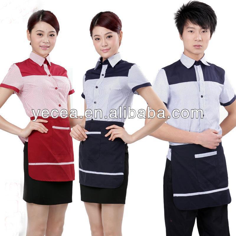 fcdd2ab0871 Restaurant   Bar Uniforms Waiter waitress Uniforms - Buy Restaurant ...