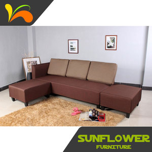 Best design luxury practical corner fabric sofa set designs