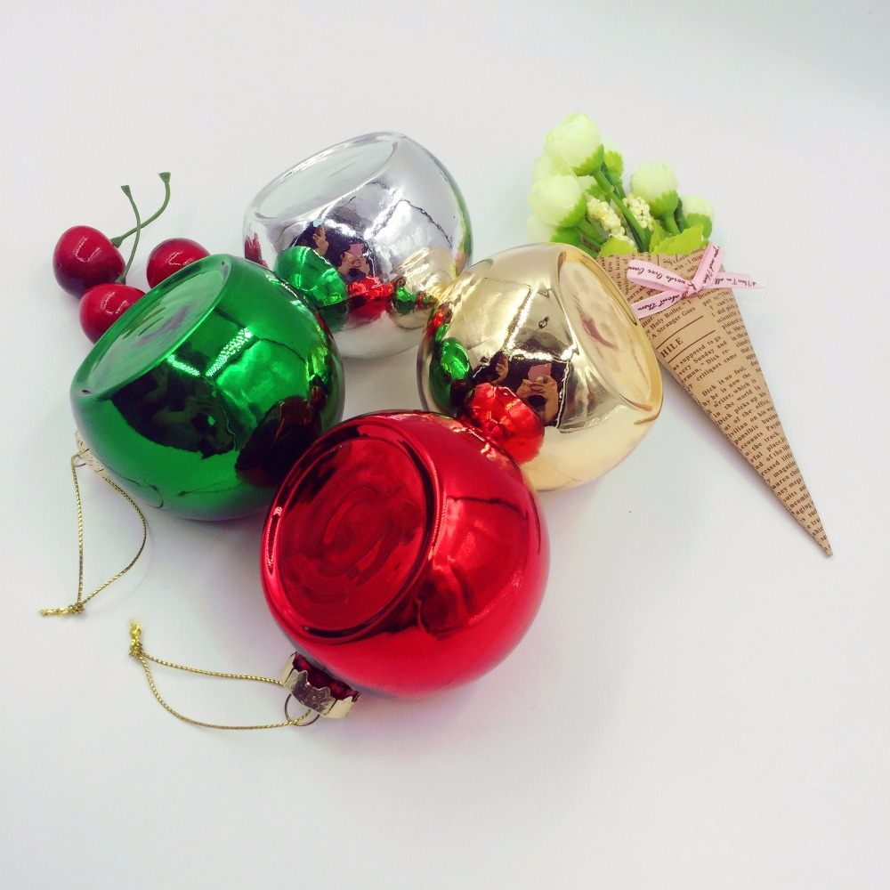 Bulk Memorial Christmas Gifts Tree Baubles Glass Ball Hanging ...