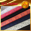mesh fabric flowers mesh lace fabric raw material for shoes making