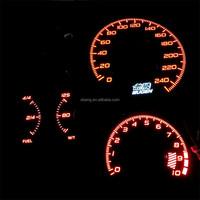Top quality EL Glowing Car Gauge/EL Glowing Car Meter