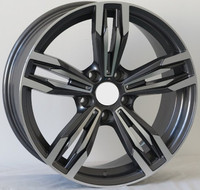 MATT BLACK car alloy wheel for any car