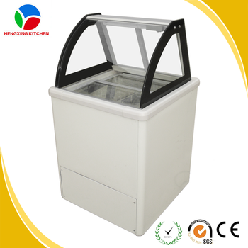 105l Used Mini Italian Ice Cream Display Freezer With Ccc ...