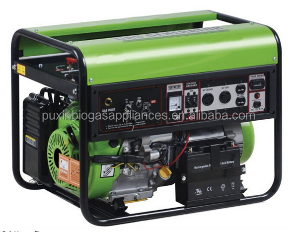Good Quality Biogas Generator/Methane Gas Generator from 1.2-3.5KW