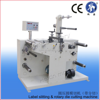 China Direct Supplier Rotary Die Cutter Kiss Cut Machine