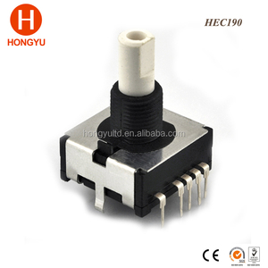 19mm 12 16 14-position Waterproof washing machine parts Vertical PCB Mount Absolute Digital Rotary Encoder