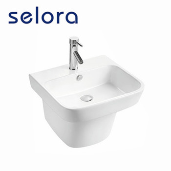 high quality fashionable design wall hung basin bathroom sink for hot selling