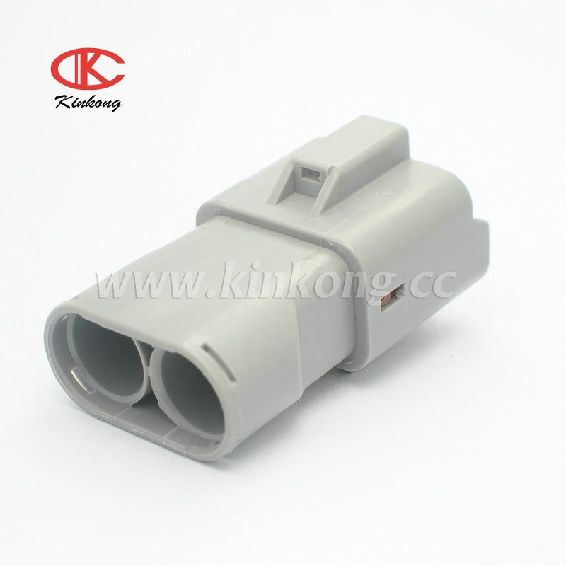 Brand 2 pole male waterproof connector 7222-4220-40