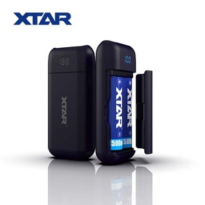 2018 XTAR NEW 2 slots 2.1A E-cigarette Powerful 3.7V 18650 Battery Chargers