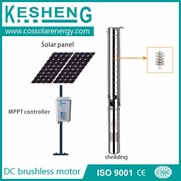 solar permanent magnet brushless dc water pump