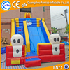 Newest commercial funny rabbit shaped inflatable dry slides for kids