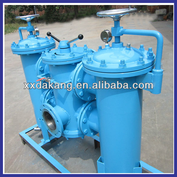 High flow industrial filtration systems