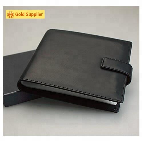 Top selling PU Leather CD Case 20 Capacity Car DVD Holder Disc Disk Storage Carry cd bags & cases for gift in car