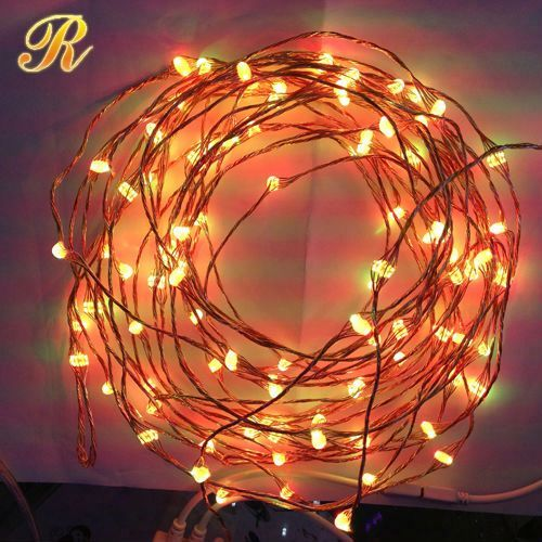 Color changing led cristmas lights