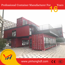 High quality luxury modern container shop for cafe house