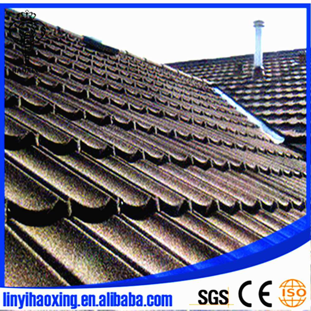 Decorative Metal Roofs Stone Coated Metal Roofing Warranty