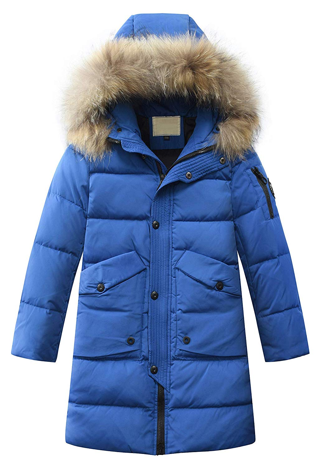 Stesti Winter Jacket Girls Cotton Padded Warm Outerwear Down Winter Coat Baby Girl