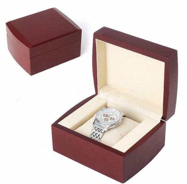 mode bo te de montre en bois noir de haute qualit de luxe bo te de montre montres cadeau montre. Black Bedroom Furniture Sets. Home Design Ideas