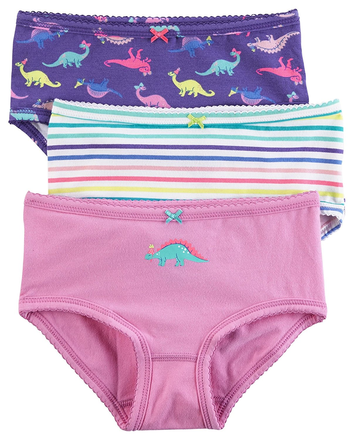 fcb4b3a6a Carter s Little Girls  3 Pack Panties (Toddler Kid) - Geo Prints